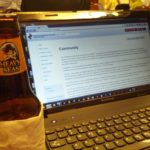 Hacking night.  Our hacking is fueled by good beer!